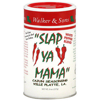 Slap Ya Mama White Pepper Blend Cajun Seasoning, 8 oz, (Pack of 12)
