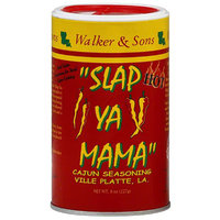 Slap Ya Mama Hot Cajun Seasoning, 8 oz, (Pack of 12)