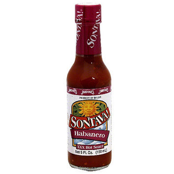 Sontava! Habanero XXX Hot Sauce, 5 fl oz, (Pack of 12)