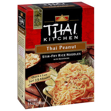 Thai Kitchen Thai Peanut Stir Fry Noodle Kit, 5.5 oz, (Pack of 12)