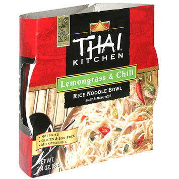 Thai Kitchen Lemongrass & Chili Rice Noodle Soup Bowl, 2.4 oz, (Pack of 6)