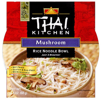 Thai Kitchen Mushroom Rice Noodle Soup Bowl, 2.4 oz, (Pack of 6)