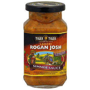 Tiger Tiger Lahori Rogan Josh Simmer Sauce, 14.8 oz (Pack of 6)