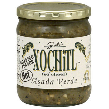 Xochitl Asada Verde Hot Salsa, 15 oz, (Pack of 6)