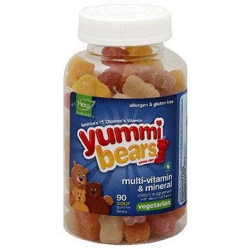 Yummi Bears Vegetarian Multi-Vitamin & Mineral Dietary Supplement, 90 count