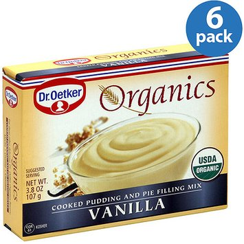 Dr. Oetker Vanilla Pudding Mix, 3.8 oz, (Pack of 6)