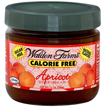Walden Farms Calorie Free Apricot Fruit Spread, 12 oz, (Pack of 6)
