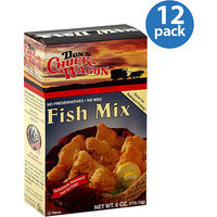 Don's Chuck Wagon Fish Mix, 6 oz, (Pack of 12)