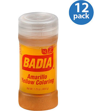 Badia Yellow Food Coloring, 1.75 oz (Pack of 12)