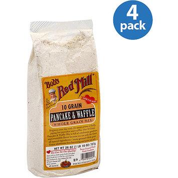 Bob's Red Mill 10 Grain Pancake & Waffle Mix, 26 oz, (Pack of 4)