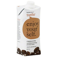 CalNaturale Svelte Cappuccino Protein Drink, 15.9 fl oz, (Pack of 6)