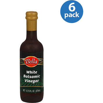 Bella White Balsamic Vinegar, 12.75 oz (Pack of 6)