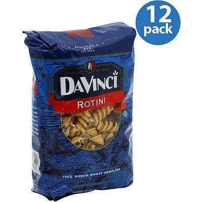 DaVinci Rotini Pasta, 16 oz, (Pack of 12)