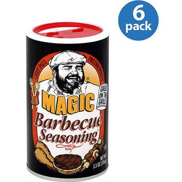 Chef Paul Magic Barbecue Seasoning, 5.5 oz, (Pack of 6)