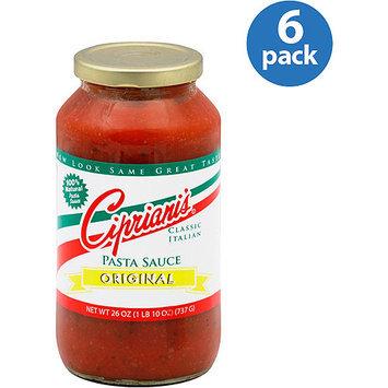Cipriani's Original Pasta Sauce, 26 oz, (Pack of 6)