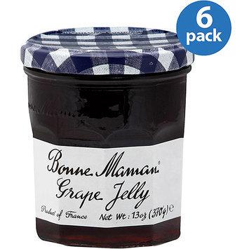 Bonne Maman Grape Jelly, 13 oz, (Pack of 6)