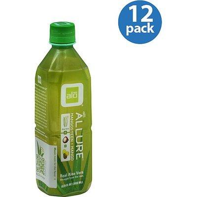 Aloe Beverage Alo Allure Mangosteen, 16.9FO (Pack of 12)