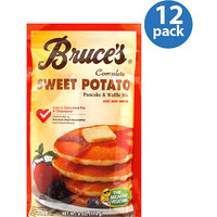 Bruce's Complete Sweet Potato Pancake & Waffle Mix, 6 oz, (Pack of 12)
