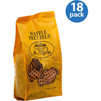 East Shore Specialty Foods Waffle Pretzels, 5 oz, (Pack of 18)