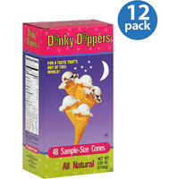 Little Dippers Dinky Dippers Sample-Size Cones, 48 count, (Pack of 12)