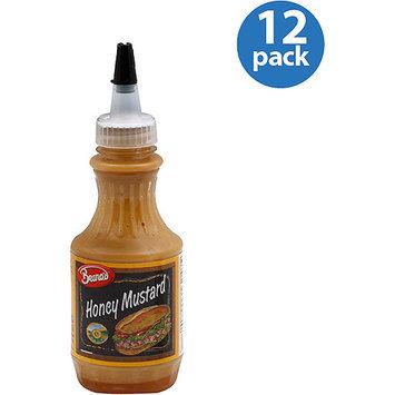 Beano's Honey Mustard, 8 oz, (Pack of 12)