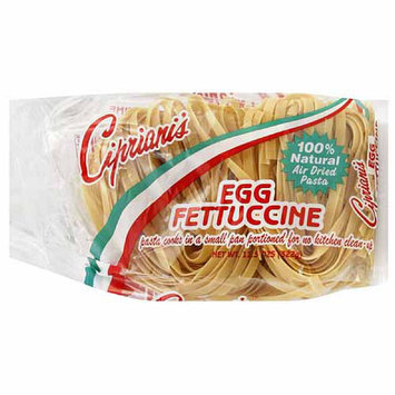 Cipriani's Egg Fettuccine Pasta, 11.5 oz, (Pack of 12)