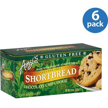 Amy's Kitchen Gluten Free Shortbread Chocolate Chip Cookies