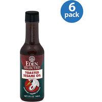 Eden Toasted Sesame Oil, 5 oz (Pack of 6)