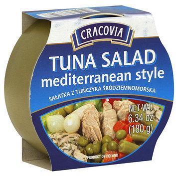 Cracovia Mediterranean Style Tuna Salad, 6.34 oz, (Pack of 12)