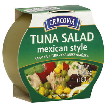 Cracovia Mexican Style Tuna Salad, 6.34 oz, (Pack of 12)