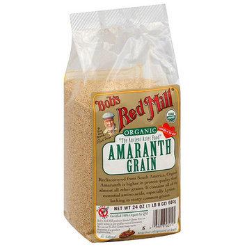 Bob's Red Mill Organic Amaranth Grain, 24 oz, (Pack of 4)
