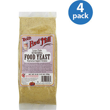 Bob's Red Mill Food Yeast, 8 oz (Pack of 4)