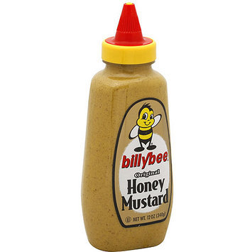 Billy Bee Original Honey Mustard, 12 oz (Pack of 6)
