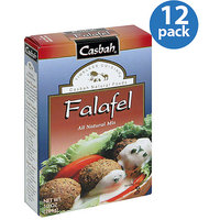 Casbah Falafel All Natural Mix, 10 oz (Pack of 12)