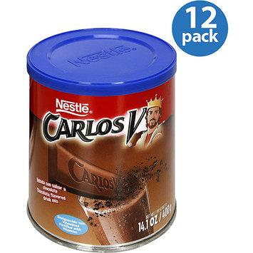Nestlé Carlos V Chocolate Drink Mix, 14.1 oz (Pack of 12)