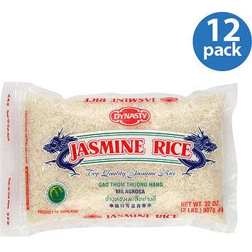 Dynasty Jasmine Rice, 32 oz, (Pack of 12)
