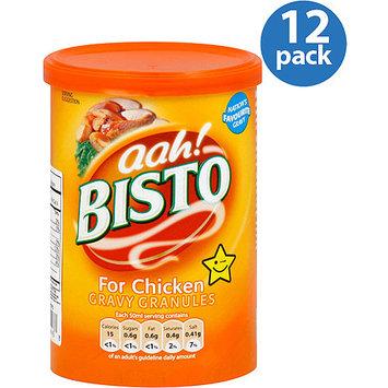 Aah! Bisto for Chicken Gravy Granules, 6 oz, (Pack of 12)