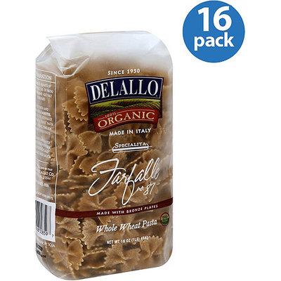 DeLallo Farfalle, 16 oz, (Pack of 16)