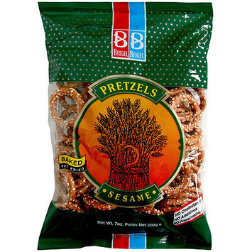 Beigel & Beigel Beigel Beigel Sesame Pretzels, 7.1 oz, 24 Pk