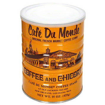 Cafe Du Monde Coffee with Chicory, 15 oz, (Pack of 6)