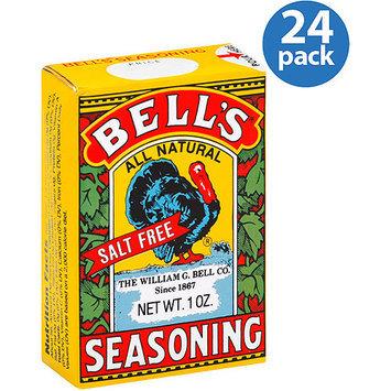 Bells Bell's Salt Free Seasoning, 1 oz (Pack of 24)