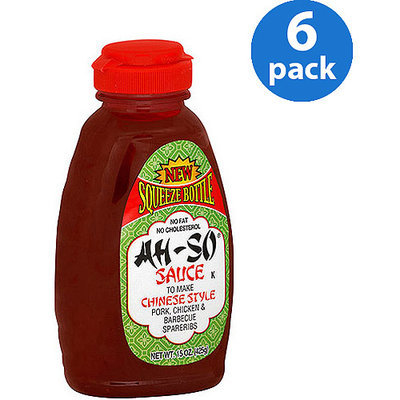 Ah So Ah-So Chinese Style Sauce, 15 oz (Pack of 6)