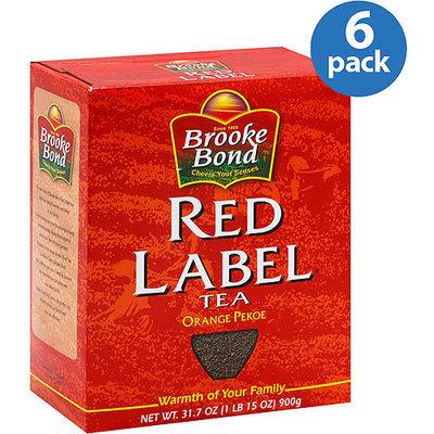 Brook Bond Brooke Bond Red Label Orange Pekoe Tea, 31.74 oz, (Pack of 6)