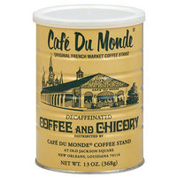 Cafe Du Monde Decaffeinated Coffee and Chicory, 13 oz, (Pack of 12)