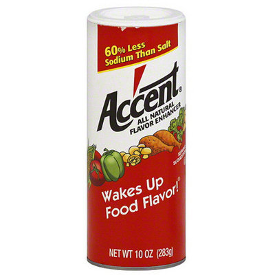 Accent All Natural Flavor Enhancer, 10 oz, (Pack of 12)