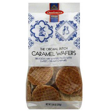 Daelias Daelmans The Original Dutch Caramel Wafers, 7.04 oz, (Pack of 12)