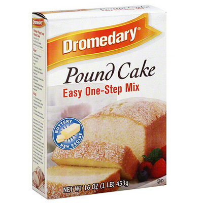 Dromendary Dromedary Pound Cake Mix, 16 oz, (Pack of 12)