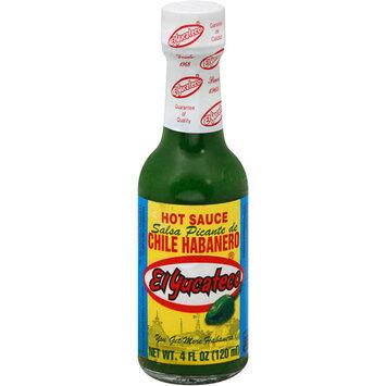 El Yucateco Green Habanero Hot Sauce, 4 oz (Pack of 12)