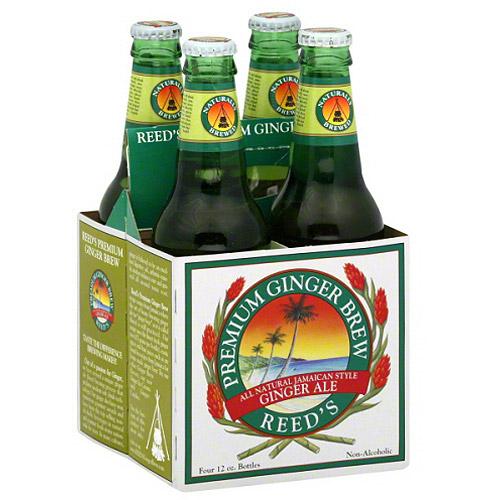 Reed's Ginger Beer Reed's Premium Ginger Brew Ginger Ale, 48 fl oz, (Pack of 6)