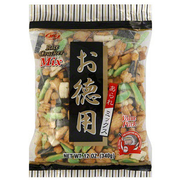JFC Rice Cracker Snack Mix, 12 oz, (Pack of 12)